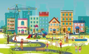 Современная городская среда